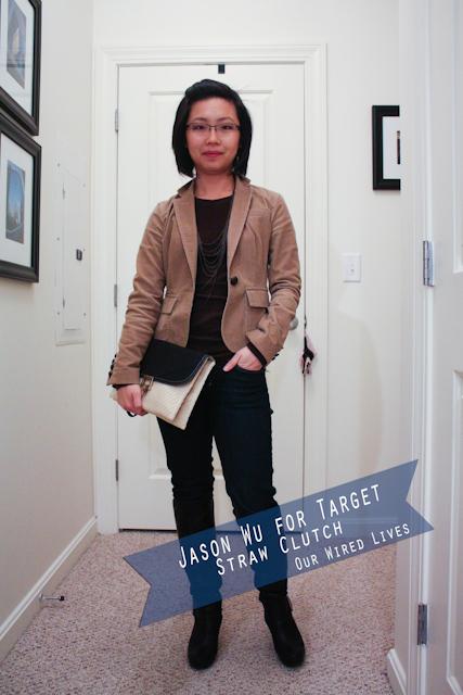 Jason Wu for Target Clutch